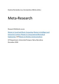 Meta-Research
